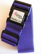sample personalized luggage strap for cancer