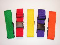 Sample Luggage Straps colors